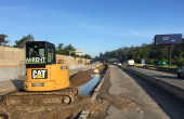 Stroje MARENT na stavbách dálnice D1