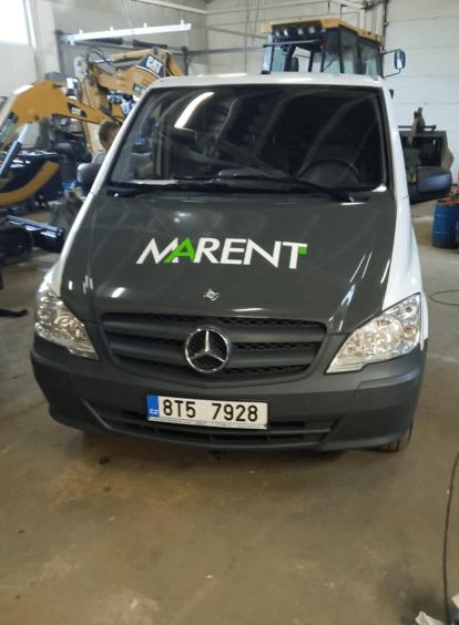 Nová servisní vozidla
